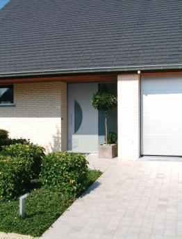 Anaf Products nv - Voordeur design stijl - Ref. Eclips small 100